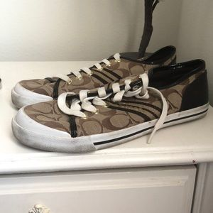 Pair of Coach shoes